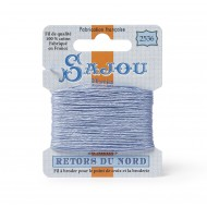 Sajou Retors Du Nord Cotton Embroidery Thread-2536 Blue