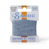 Sajou Retors Du Nord Cotton Embroidery Thread-2832 Grey