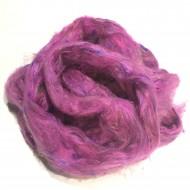 Sari Silk- Cerise Pink- approx 5 Grams