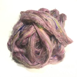Sari Silk- Medium Pink- approx 5 Grams