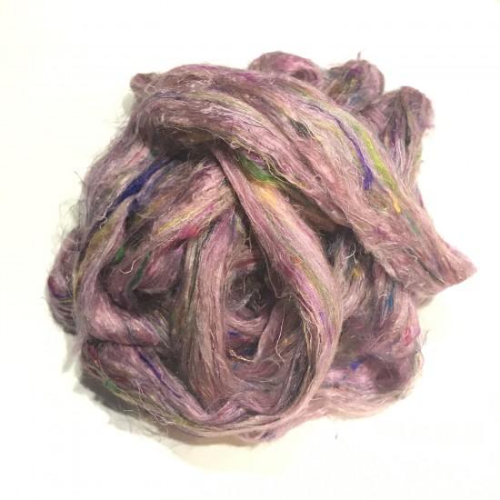 Sari Silk- Medium Pink- approx 5 Grams