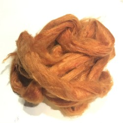 Sari Silk- Orange- approx 5 Grams