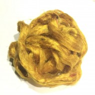 Sari Silk- Yellow- approx 5 Grams