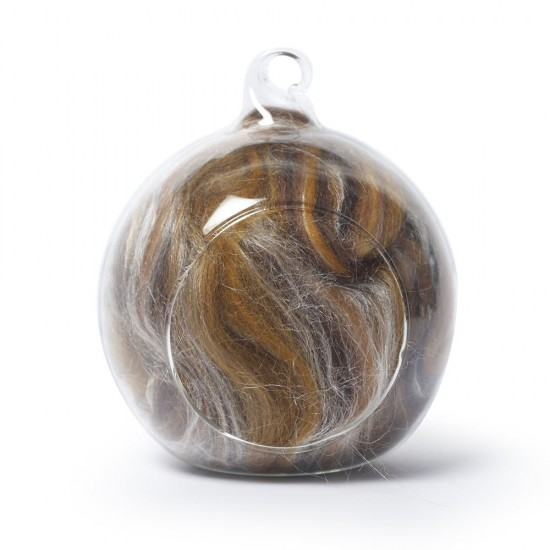 Merino and silk wool blends -Browns 25 Grams