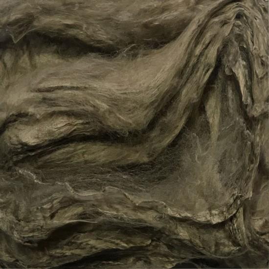 Mulberry Silk Hankies- Earth Brown- approx 10 Grams