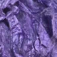 Mulberry Silk Hankies- Lavender- approx 10 Grams