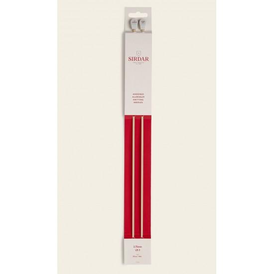 Sirdar Rose Gold Anodised Aluminium Knitting Needles-3.75 mm
