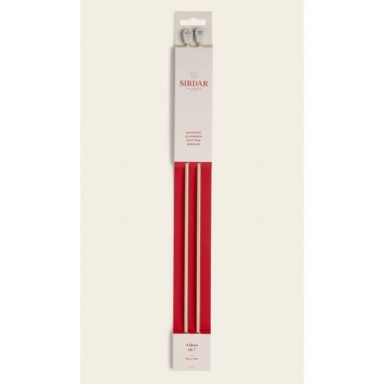 Sirdar Rose Gold Anodised Aluminium Knitting Needles-4.50 mm