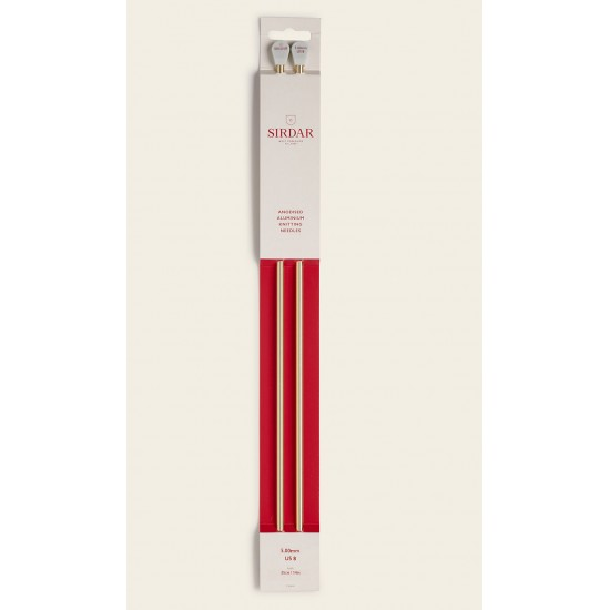 Sirdar Rose Gold Anodised Aluminium Knitting Needles-5.00 mm