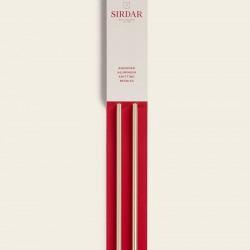 Sirdar Rose Gold Anodised Aluminium Knitting Needles-6.00 mm