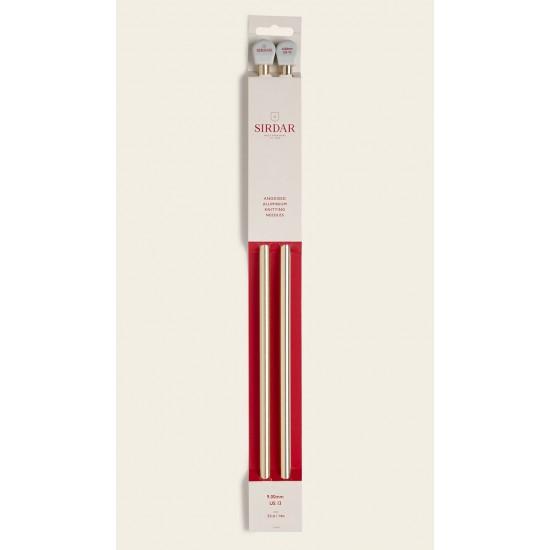 Sirdar Rose Gold Anodised Aluminium Knitting Needles-9.00 mm