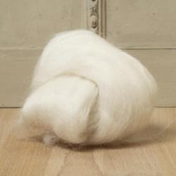 Baby Alpaca Top- Natural White 25 Grams