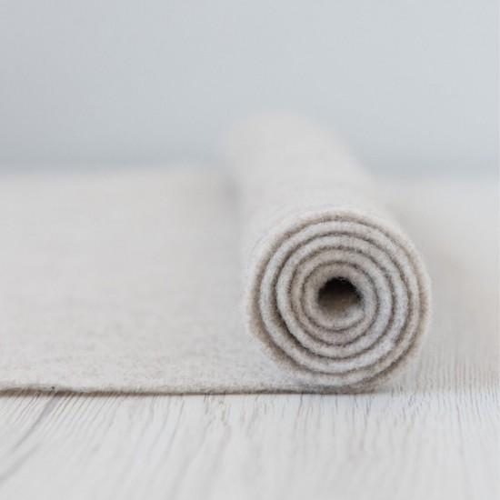 2mm Thermoformable Wool Felt-Stone