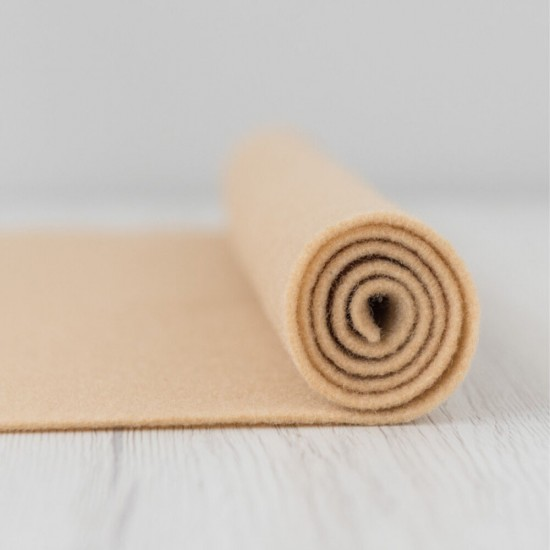 2mm Thermoformable Wool Felt-Leather