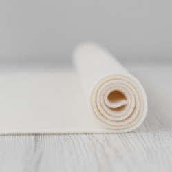 2mm Thermoformable Wool Felt-Milk