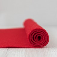 2mm Thermoformable Wool Felt-Red Carpet