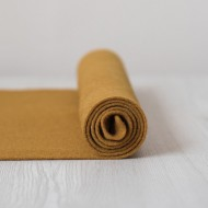 2mm Thermoformable Wool Felt-Saffron