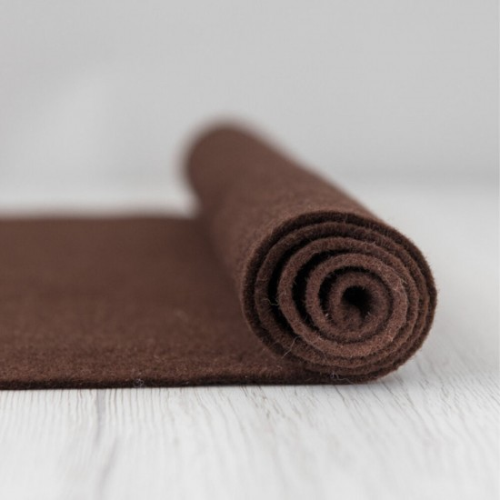 2mm Thermoformable Wool Felt-Tobacco